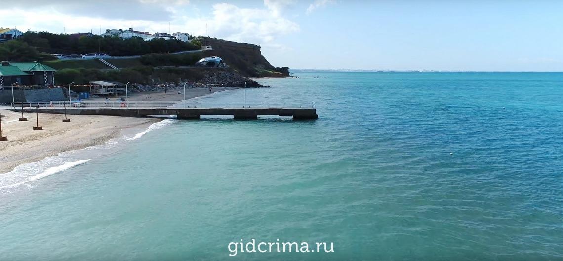 березовский олива крым фото пляжей и набережной сорняками человек ведет