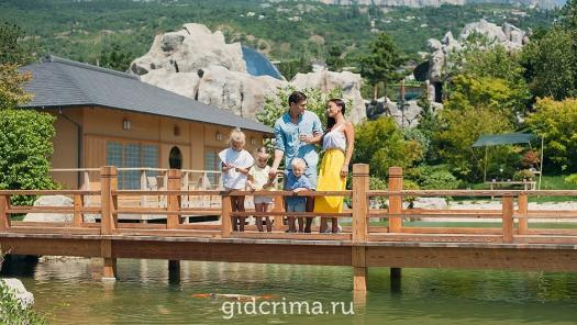 Фото Японский сад Шесть чувств Mriya Resort SPA