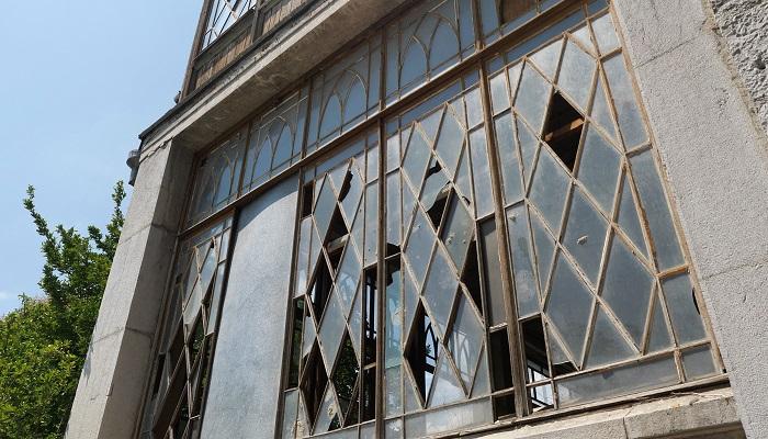 Фото дворец графини Паниной в Крыму разрушается