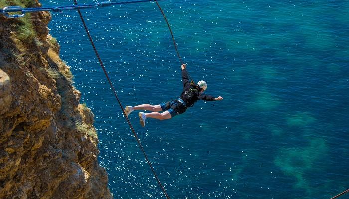 Прыжки с веревкой Фиолент Крым