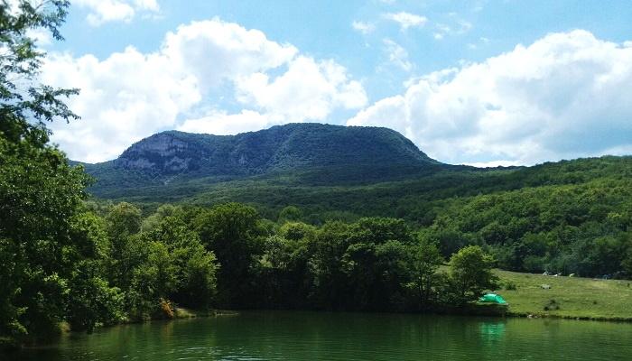 Гора Бойко Бахчисарайский район Крыма