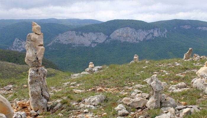 Панорама с горы Бойко