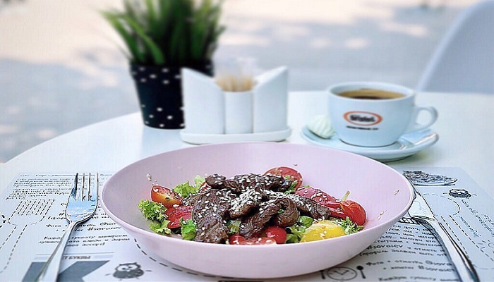 Кафе Севастополя средиземноморская кухня