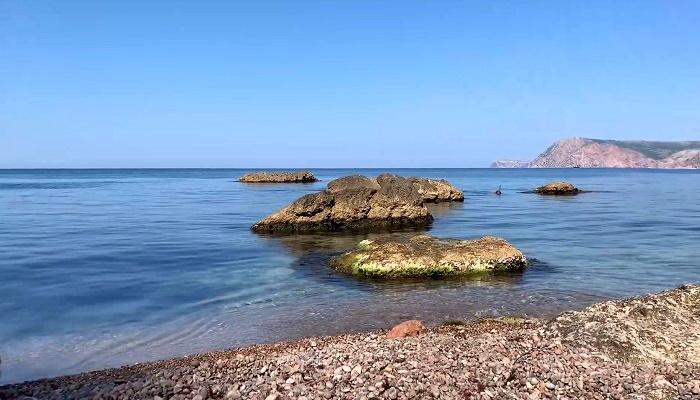 Командирский пляж в урочище Аязьма