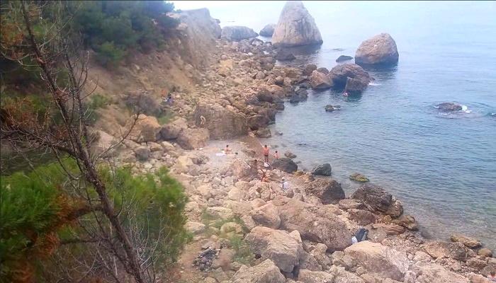 Пляж Блуждающий урочище Аязьма