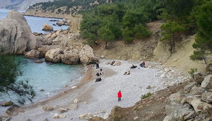 Пляж Инжир урочище Аязьма