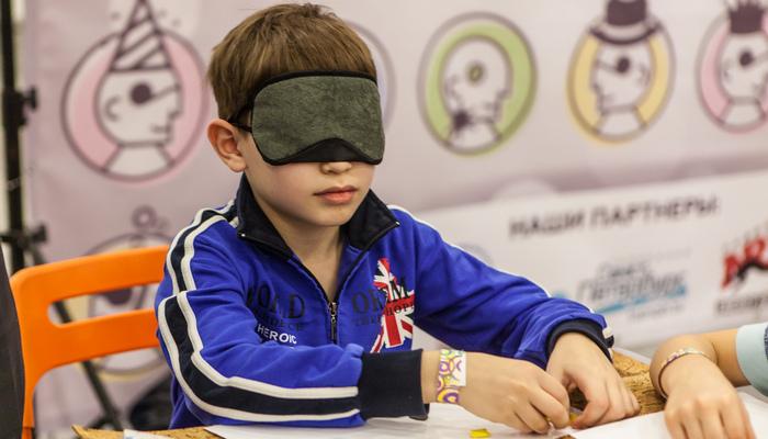 Детский квест Мир на ощупь в Симферополе