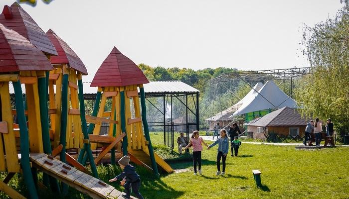 Рыбацкая деревня для детей