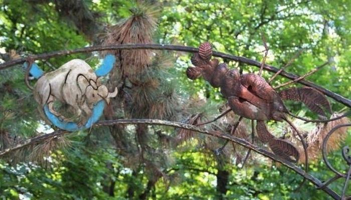 Сквер Кованых фигур 200-летия Симферополя