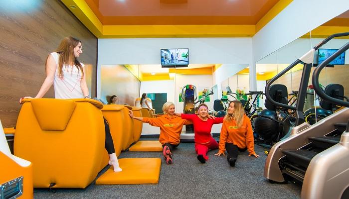Тренировки женский фитнес клуб Тонус в Симферополе