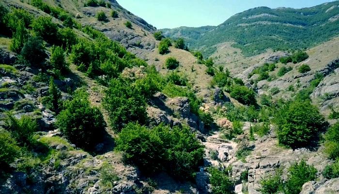 Фото Арпатский каньон Крыма