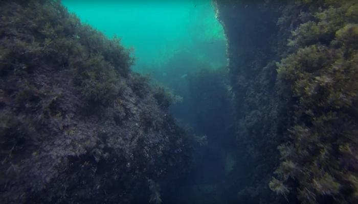 Фото Бухта Любви под водой