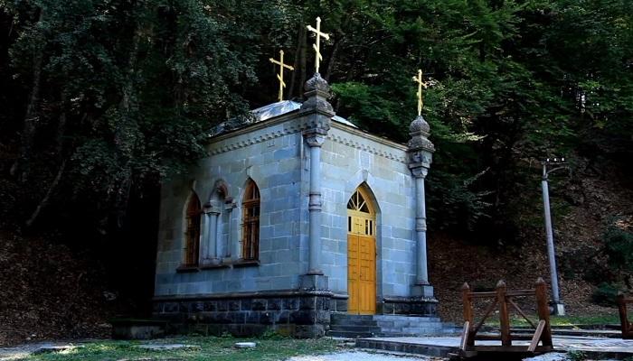 Фото Часовня Косьмо-Дамиановский монастырь