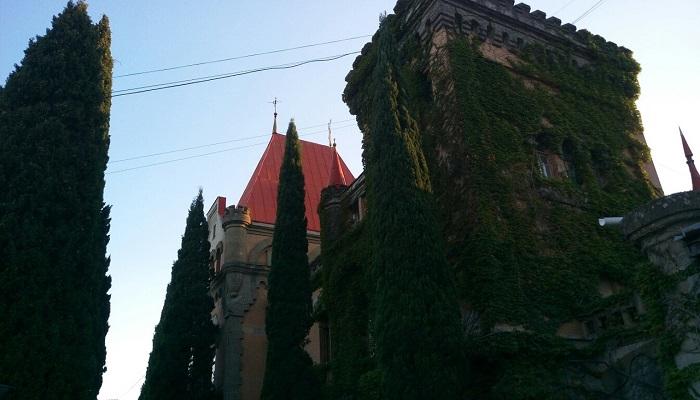 Дворец Гагариной близ Алушты