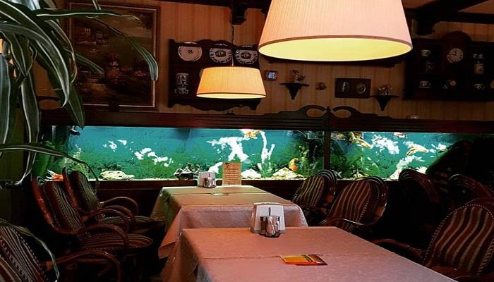 Фото Интерьер ресторана Встреча в Алуште