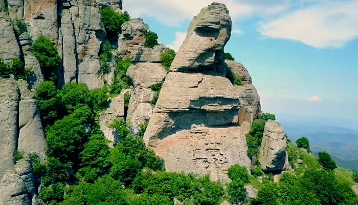 Фото Каменные столбы Крыма