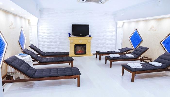 Комната отдыха SPA отеля Лазурный в Алуште