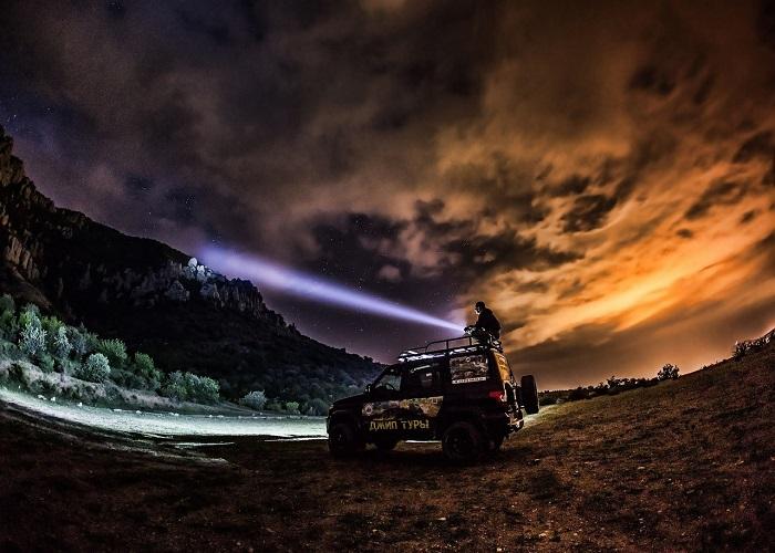 Ночные джип туры в Алуште