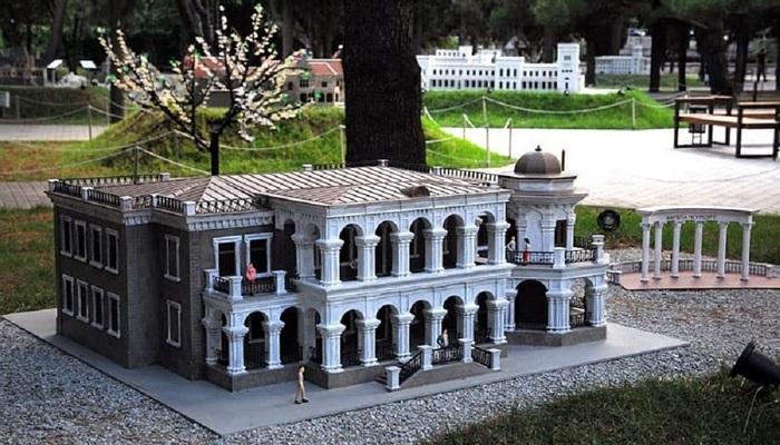 Парк Крым в миниатюре