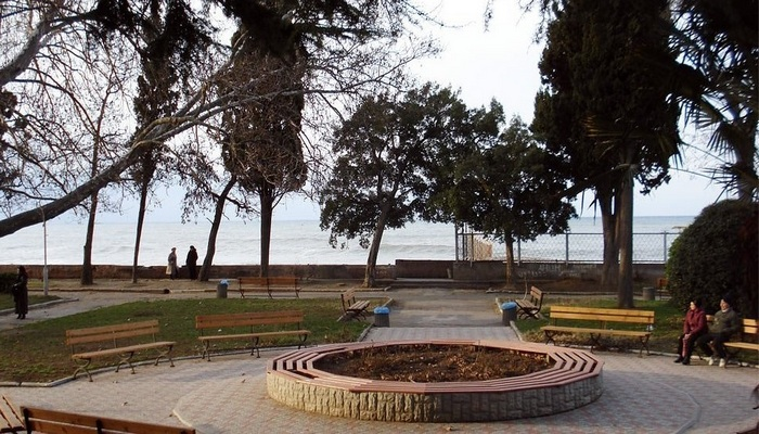 Приморский парк в Алуште