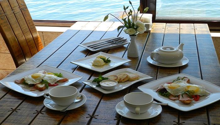 Фото Комплексный завтрак в ресторане Корона Утес