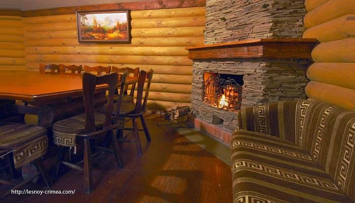 Фото Интерьер ресторана Лесной Алушта