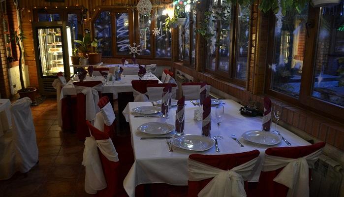 Фото Интерьер ресторана Наш Двор в Крыму