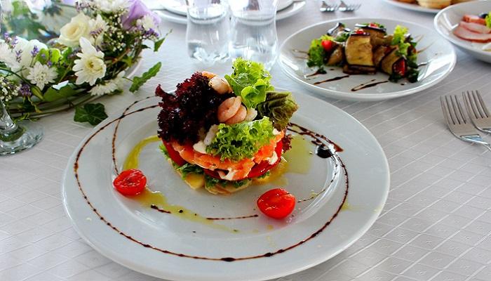 Фото Салат в ресторане Утеса