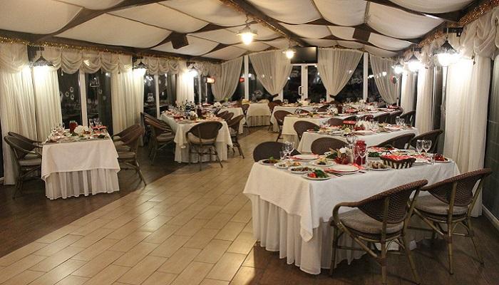 Фото Интерьер ресторана Санта Барбара Утес