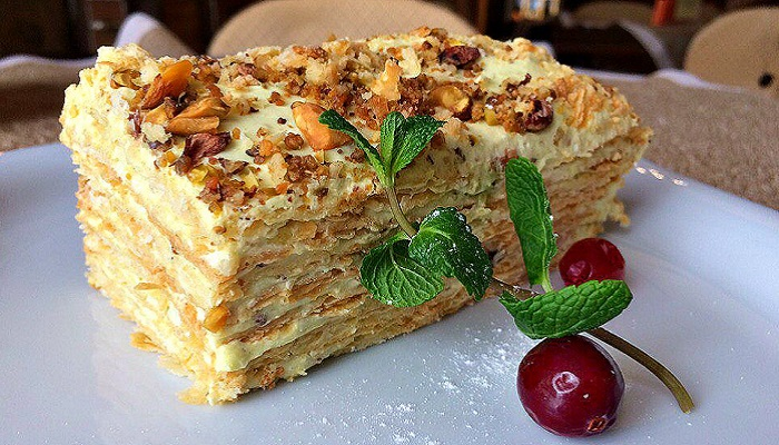 Фото Десерт в ресторане Старый город Алушта