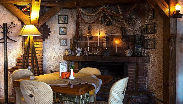 Фото Интерьер ресторана Старый город Алушта