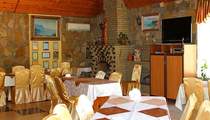 Фото Интерьер ресторана Золотая рыбка Алушта