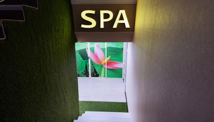 СПА центр отеля Лазурный в Алуште