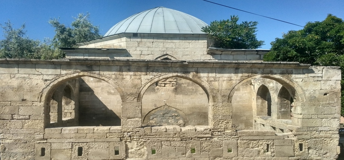 Мавзолей Эски-дюбре в Бахчисарае