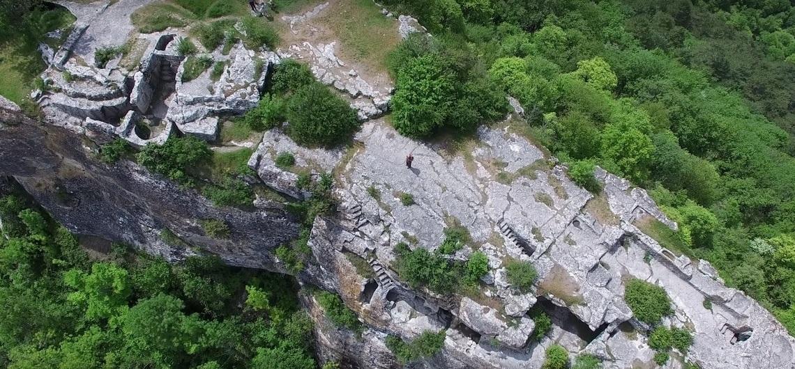 Пещерный город Мангул