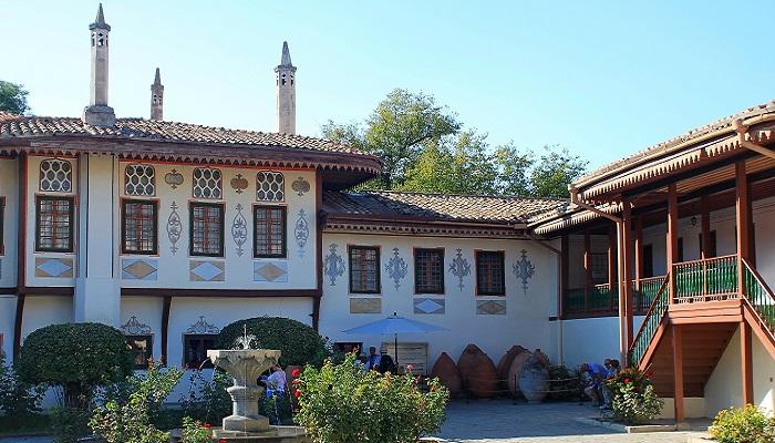 Ханский дворец в Бахчисарае 2