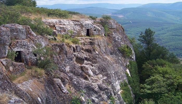 Фото Пещерный город Кыз-Кермен