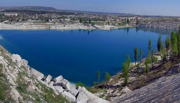 Марсианское озеро Бахчисарайский район Крыма
