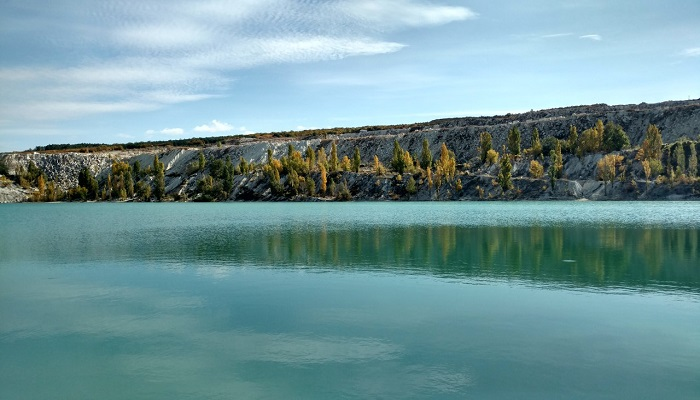 Фото Мраморное озеро село Скалистое