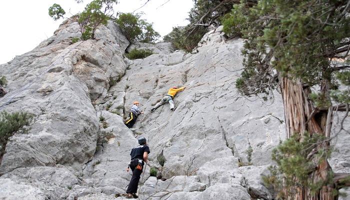 Альпинизм в урочище Батилиман