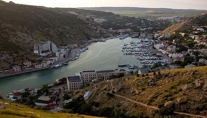Фото Балаклавская бухта в Крыму