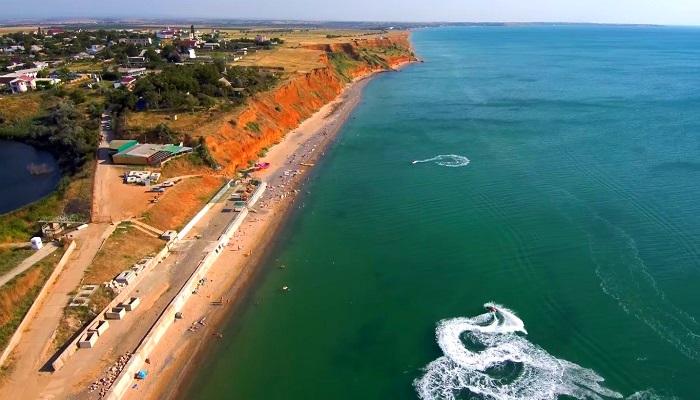 Фото Береговое Каламитский залив Крым
