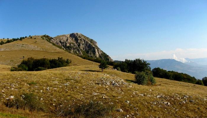 Гора Куш-Кая близ Алушты