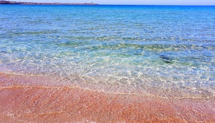 Фото Песчаный берег Караджинской бухты
