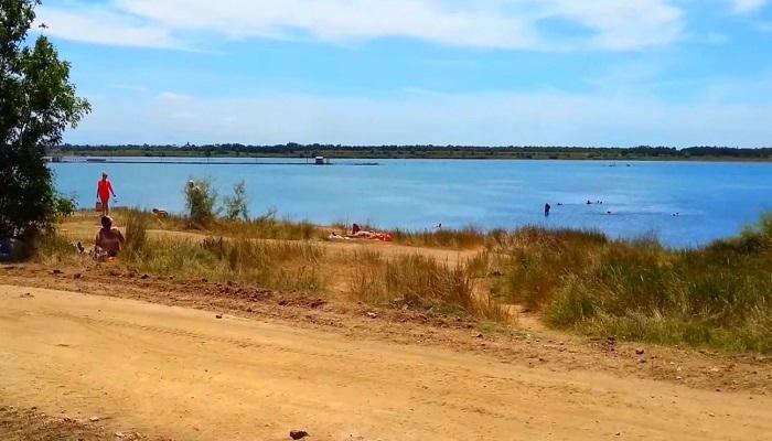 Фото Сакское озеро в Крыму