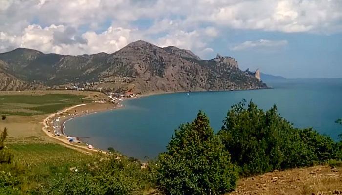 Фото Веселовская бухта в Крыму