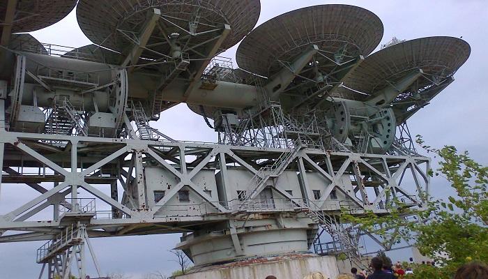Центр космической связи Витино Крым