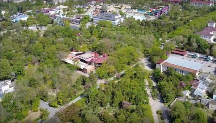 Центральный парк Фрунзе в Евпатории