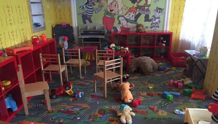 Детская комната вареничной Победа в Евпатории