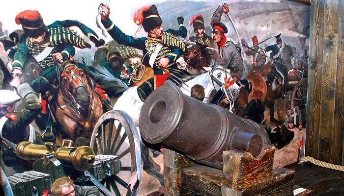 Фото Пушка в музее истории Крымской войны Евпатория